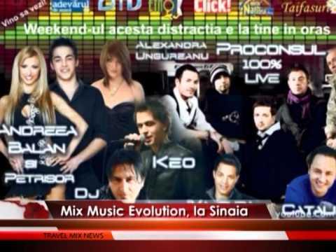Mix Music Evolution, la Sinaia