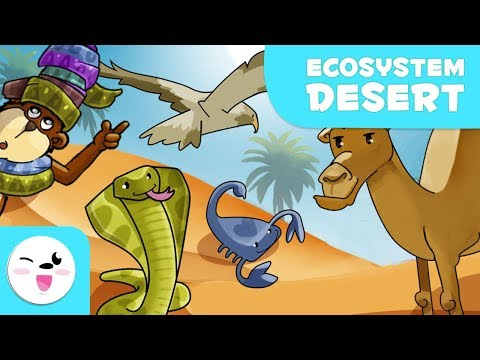 Animals of the Desert - Learning Ecosystems for Kids