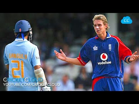 Sourav Ganguly DADA Epic reply to Stuart Broad's Sledging !!