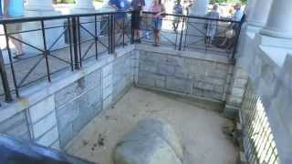 Plymouth (MA) United States  city images : Happy Thanksgiving from Plymouth Rock in Plymouth, Massachusetts USA