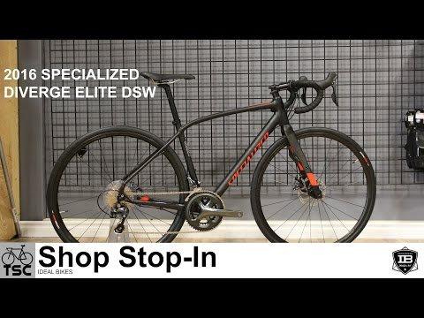 2016 Specialized Diverge Elite DSW: Shop Stop In