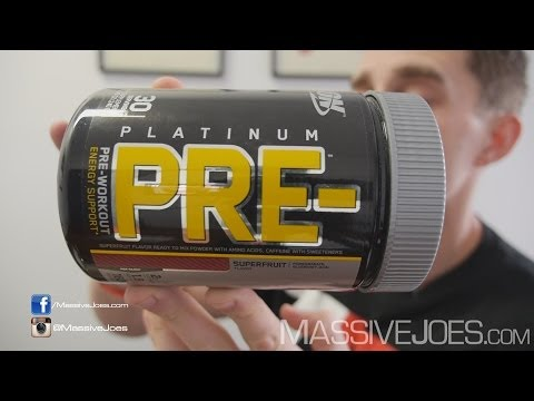 pre - BUY Optimum Nutrition Platinum PRE Here: http://massivejoes.com/buy/massivejoes/supplements/brand/optimum-nutrition Visit our Website: http://MassiveJoes.com...