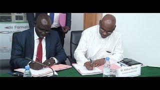 Signature de convention entre l'ONFP et SGO