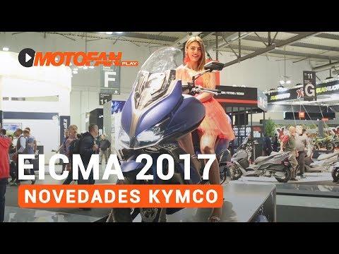 Vídeos de '(VIDEO) Las novedades de KYMCO en el salón EICMA de Milán 2017'