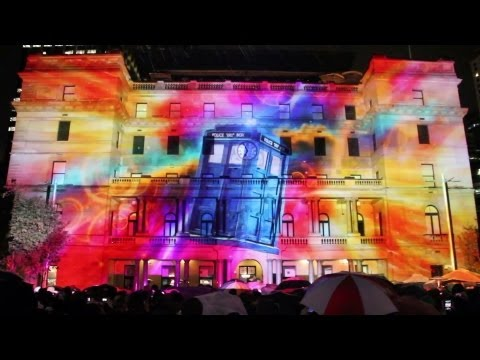 Behind the scenes on Doctor Who at Vivid Sydney