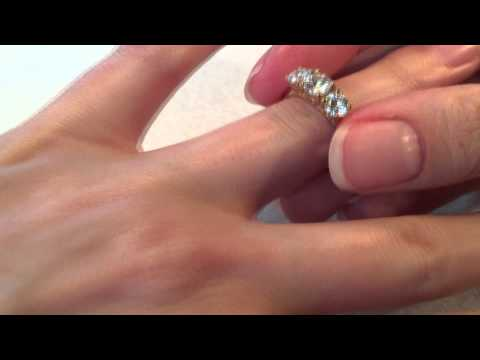 Capella 3 Stone Round Brilliant Diamond Engagement Ring