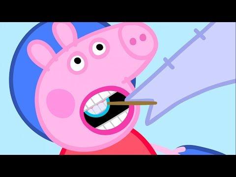 Peppa Pig en Español Episodios completos  Peppa Pig El Dentista  Compilación  Dibujos Animados
