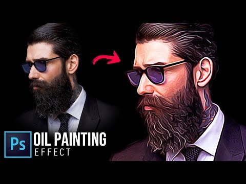 How To Turn Photo To Oil Painting Effect - Photoshop Tutorial