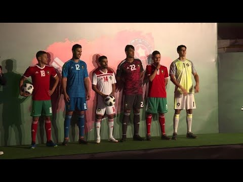 العرب اليوم - شاهد: المغرب يكشف عن قميصه ويستهل تحضيراته خلال مونديال 2018