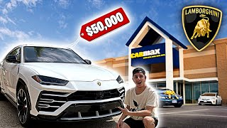 Video Taking my Lamborghini Urus to CarMax! They Offered This... MP3, 3GP, MP4, WEBM, AVI, FLV Juli 2019