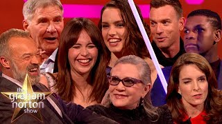 There's been plenty of Star Wars cameos on the red couch over the years. Enjoy a mashup of some of our favourite moments, and May the Norton Be With You!Subscribe for weekly updates: http://www.youtube.com/subscription_center?add_user=officialgrahamnorton