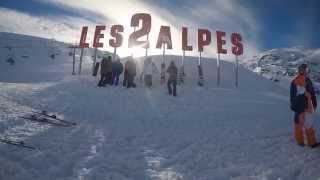 Les Deux Alpes France  city pictures gallery : Les Deux Alpes 2015 GoPro HERO4