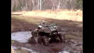 10. Dam that mud hole, Arctic Cat 700 EFI