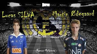 ||●Martin Ødegaard-Lucas Silva● Passes And Goals ● Welcome To Real Madrid| HD