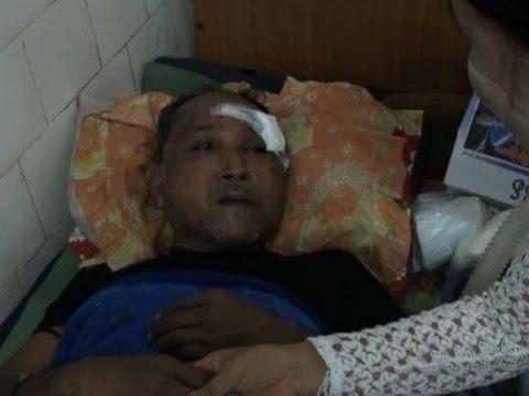 Rangoon crime reporter beaten