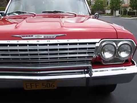 1962 Chevy Impala SS 409 Dual Quad 4 Speed
