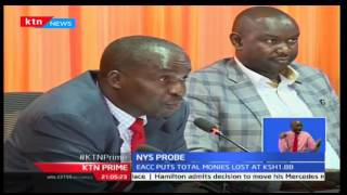 KTN Prime: EACC Boss Halakhe Waqo Cites New Unforeseen Cases In NYS Scam, 29/09/2016