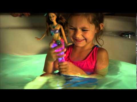 """Кукла Barbie Русалка """"Яркие огоньки"""" в ассорт."""
