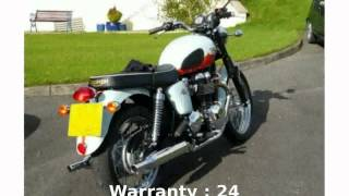 6. 2010 Triumph Bonneville T100 (1960 Anniversary Edition) - Features