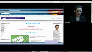 2011 Session 14 - Basis Of Assets