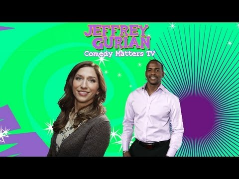 Keith Robinson and Chelsea Peretti at Just for Laughs Festival with Jeffrey Gurian!