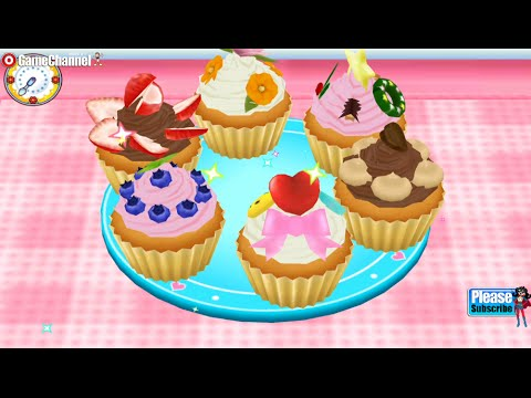 COOKING MAMA Let's Cook Cup Cake making