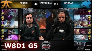Video Fnatic vs ROCCAT | Week 8 Day 1 of S8 EU LCS Spring 2018 | FNC vs ROC W8D1 G5 MP3, 3GP, MP4, WEBM, AVI, FLV Agustus 2018