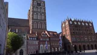 Stralsund Germany  City new picture : The streets of Stralsund,Germany 4K