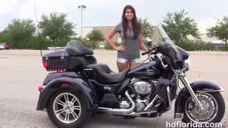 7. Used 2012 Harley Davidson Tri Glide TRike 3 Wheeler for sale