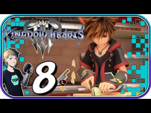 Kingdom Hearts 3 - Part 8: Learn To Cook