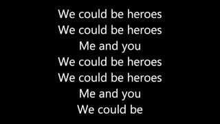 Video Alesso (We could be) - Heroes | Lyrics MP3, 3GP, MP4, WEBM, AVI, FLV April 2018