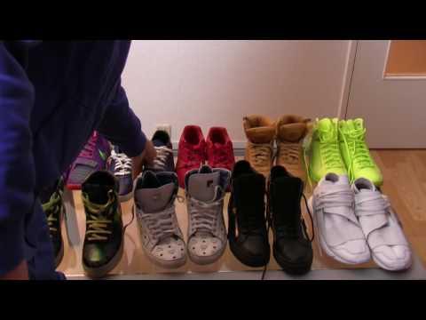 Hustensaft Jüngling protzt mit seinen Designer Sneakern (5000€)