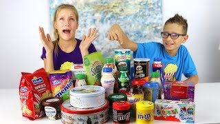 Don't Choose the Wrong Snack Slime Challenge!
