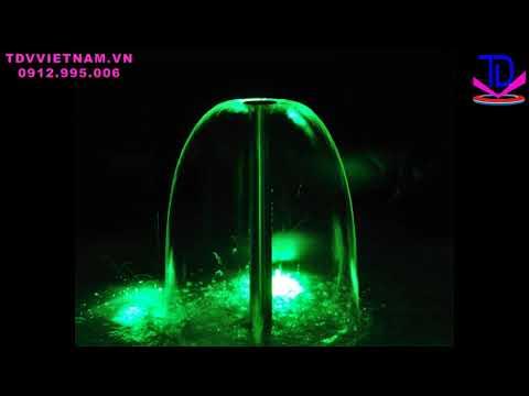 Vòi phun nước hình nấm Lava - Vòi phun đài phun nước