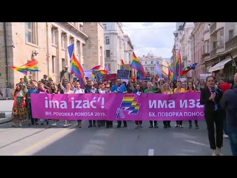 Το πρώτο Gay Parade στην ιστορία της Βοσνίας