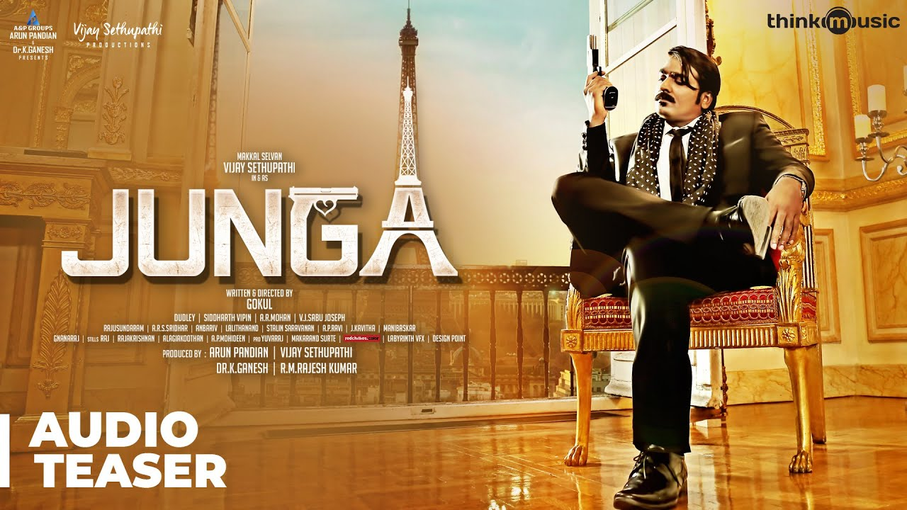 Junga Audio Teaser | Vijay Sethupathi, Sayyeshaa | Siddharth Vipin | Gokul