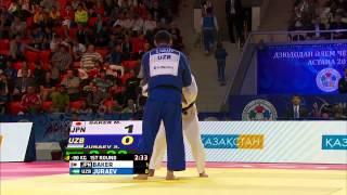 Mashu Baker (Japan) vs Sherali Juraev (Uzbekistan) World Judo Championships 2015 - AstanaJudo - 90kg