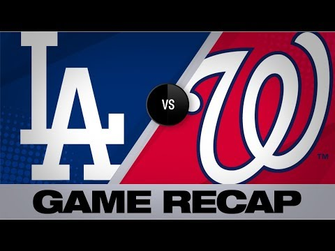 Video: Turner lifts Dodgers with go-ahead homer | Dodgers-Nationals Game Highlights 7/26/19