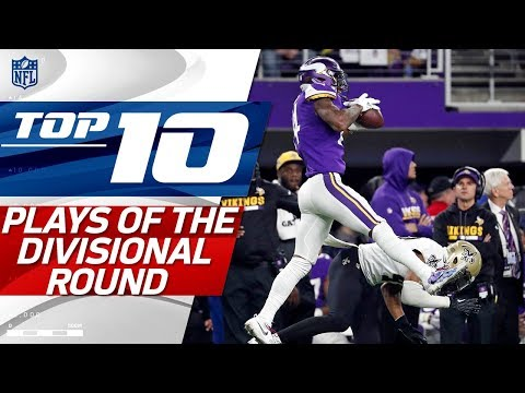 Top 10 Plays from the Divisional Round | NFL Highlights (видео)