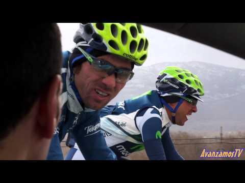 Épica y emotiva etapa reina con el movistar team en la Vuelta a Castilla y León