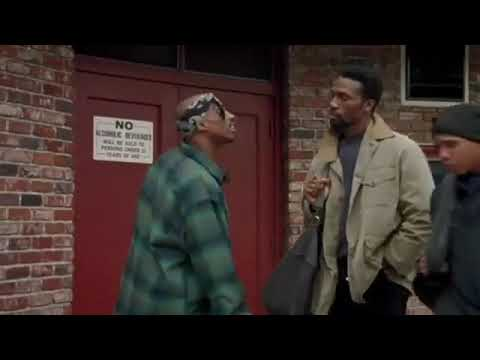 """Tupac Shakur In a famous scene from """"Above The Rim"""" the movie"""