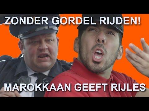 | Marokkaan Geeft Rijles (Seizoen 2 Aflevering 5) ZONDER GORDEL!