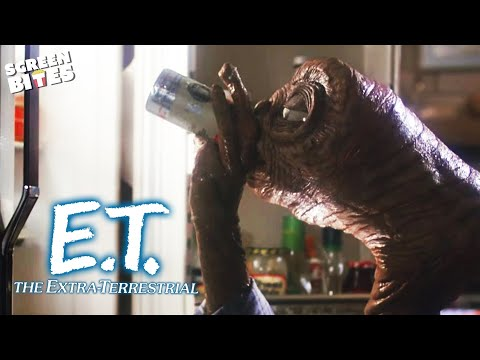 E.T. the Extra-Terrestrial   Let's Party: Getting Drunk with E.T (ft 'Elliot', Henry Thomas)