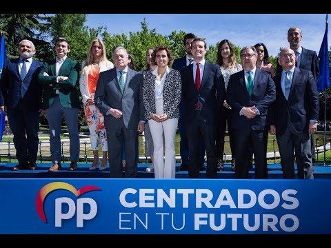 Casado defiende los valores europeos del PP frente a los populismos que destrozan siempre lo que tocan