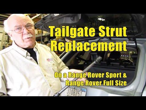 Replacing Tailgate Struts Range Rover Sport '06-'09