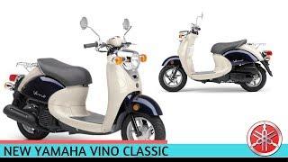 5. 2018 Yamaha Vino Classic Scooter