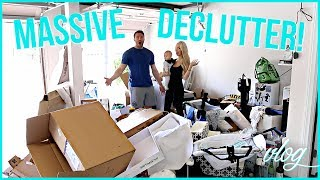 In this week's vlog we do a massive garage and clothing declutter! I also do my weekly meal prep & a target haul. Get your free Audible 30-day trial today by signing up at http://www.audible.com/vasseur♡ S O C I A L M E D I A ♡ Follow me for cute Carter photos! INSTAGRAM:  http://instagram.com/vasseurbeauty TWITTER:  https://twitter.com/vasseurbeauty♡ M Y  P R O D U C T S ♡ I have a line of premium, all-natural body care products safe for pregnant & breastfeeding women and babies! Buy my body care bundle - body lotion, body wash and body oil - and save 25%! Free shipping in USA, ships internationally. https://vasseurskincare.com/collections/body-care/products/vasseur-beauty-kit♡ I N F O ♡⇒ MY BOOK RECOMMENDATIONS: These are some of my favorite/most influential books of all time. ⭐ Rejection Proof. I have a major fear of failure so the lessons in this book were life-changing for me, and it's also extremely entertaining. ⭐ Brain Rules for Baby. #1 baby book I recommend for pregnant women and mamas – I've listened to this 3 times and have read the book twice! Just trust me on this one.⭐ Don't Sweat the Small Stuff. A classic that I re-listen to every 2-3 weeks (seriously!) it helps me deal with stress and anxiety better than almost anything. ⭐ The Power of Habit. Your success (or failure) in life is a function of your daily habits. This book helps you learn how habits are formed and broken. ⭐ Your Brain at Work. Helps you understand how your brain works & how to optimize your time and productivity. I've had all of my close friends listen to/read this one.  ⭐ Elon Musk: Tesla, SpaceX, and the Quest for a Fantastic Future. This was incredibly fascinating and inspiring. Ryan also was hooked on this one and we could not stop talking about it. ♡ Use my link to get a 30-day free trial to listen to any of the above books (or any book you want) for FREE ♡ http://www.audible.com/vasseur Other things:⇒ Carter bumbo seat with tray http://amzn.to/2sza0En ⇒ Meal prep containers  ht