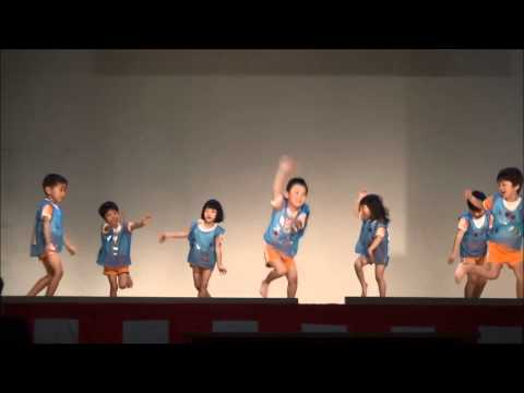 ダンス あなみ保育園 庄内町文化芸能発表大会 2014