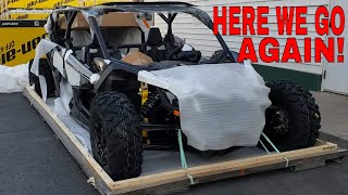 6. 2020 CAN AM MAVERICK X3 MAX X RS TURBO RR UNBOXING/NEW BUILD
