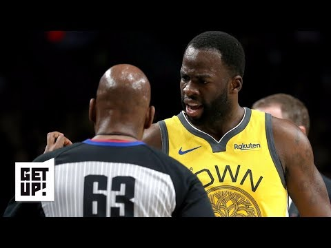 Video: Is Draymond Green right about being officiated differently? | Get Up!